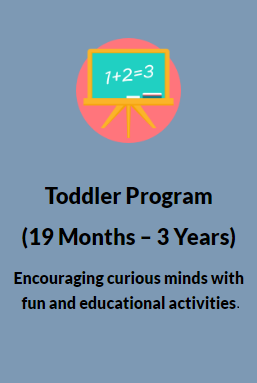 Toddler Program (19 Months - 3 Years)
